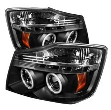 Spyder 5030207 CCFL LED Projector Headlight Black For 05-07 Armada 2pc NEW