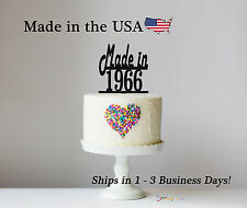 Made in (Customize to your year) Cake Topper - LT1079