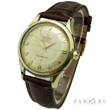 OMEGA CONSTELLATION 'PIE-PAN' GOLD CAP VINTAGE AUTOMATIC WRISTWATCH CIRCA 1962