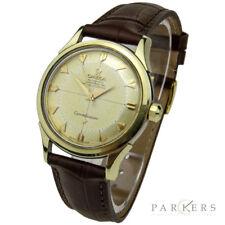 """Reloj De Pulsera OMEGA constelación """"pie-pan 'Gorra De Oro Automático Vintage Circa 1962"""