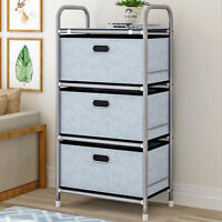 Storage Shelf Cube Basket Bins Organizer Closet Container Fabric Drawers