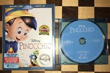 DISNEY Pinocchio Signature Blu-ray ONLY In Jewel Case With Slipcover