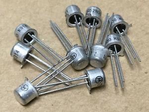 (10 PC)  MOTOROLA  2N930   Bipolar Junction Transistor, NPN Type, TO-18