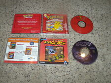 Pokemon Project Studio Red Version & Radio Control Racers - PC games