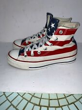 Converse All Star Stars & Bars Chuck Taylor USA Flag Sz men's 5 women's 7