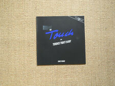 LP-the touch with Terence Trent D'Arby early works (MINT)
