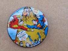 DC Universe Classics 75 Years SUPERMAN VS. SHAZAM Collector Button