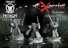 HiTech Miniatures: Exorcist Lothar Massig (28mm) Sci-Fi Grey Knights