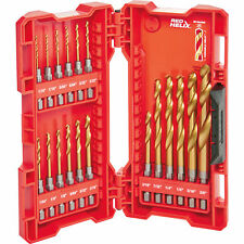 Milwaukee 48-89-4680 Shockwave Impact Duty Titanium Drill Bit Set (18-Piece) New