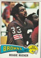 FREE SHIPPING-NRMINT TO VG-1975 Topps #288 Reggie Rucker Cleveland Browns