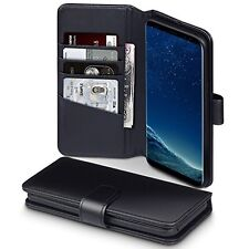 Samsung Galaxy S8+ Rabat Portefeuille & S8+ HYBRID CASE & Mobile Mount & Écran Protection