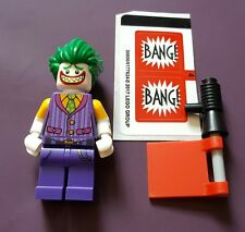 GENUINE LEGO BATMAN MOVIE THE JOKER from 70906 MINT SPLIT FROM 2017 SET