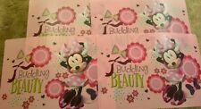 Set of 4 Disney Minnie Mouse Placemats...great decor for kids—-(box-212)