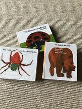 18� Doll Eric Carle mini Books Brown Bear Grumpy Ladybug For American Girl Dolls