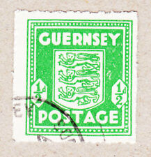Guernsey Mi.Nr. 1 g gestempelt und geprüft