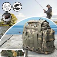 Waterproof Sea Carp Fishing Tackle Bag 900D Oxford Fabric Storage Pockets Bag