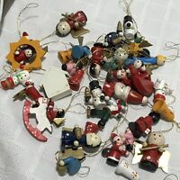 Mini Christmas Ornaments Assorted Set 34