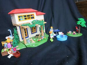 Playmobil Ferienhaus Toskana Konvolut  4857  und viel mehr!