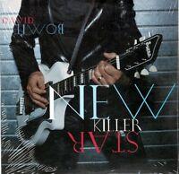 DAVID BOWIE - NEW KILLER STAR - CD SINGLE CARD SLEEVE 2 TRACKS NUOVO SIGILLATO