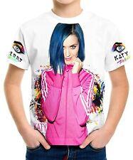 New Katy Perry Boys Kids T-Shirt Tee Size 3 4 6 8 10 12