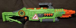 REVOLTINATOR Zombie Strike Blaster NERF GUN WORKING LIGHTS SOUND!  No Clip