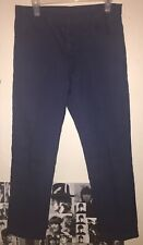 Levis Big E Slacks Sta Prest Hopsack Pants Circa The Mid-late 60's Navy Blue