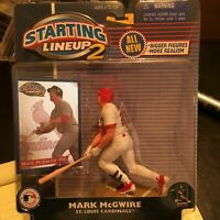 F59 2001 MARK MCGWIRE CARDINALS Starting Line Up NIB FREE SHIPPING