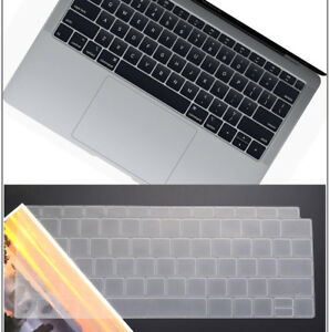 """US/EU Soft Silicone Laptop keyboard cover For Macbook Air 13.3"""" Retina 2019 2020"""