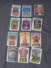 Neuf Vintage Lot Of 12 Garbage Seau Enfants Autocollants Coincé Chuck ~ Haley
