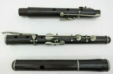 V. Kohlert Sons Makers Graslitz Wood Flute D Series Austria Leonard B Smith SN