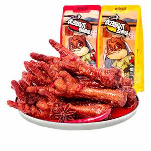 三只松鼠_深夜虎皮凤爪200g 网红零食网红香辣即食袋装卤鸡爪