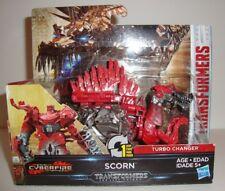 Transformers The Last Knight 1-étape Turbo Echangeur mépris Movie Figure CYBERFIRE