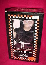Spooky Hollow Animated Light Up Halloween Grimm Reaper Dancing Walking Box Grim
