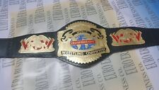 New WCW Cruiserweight Champion Belt, Adult Size & Metal Plates