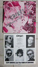 Cliff Barnes and the fear of winning Spike! LP Happy Valley Rec. – 01325-08