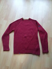 Pull Rip Curl Rouge Mailles Cotes Taille 38   Neuf