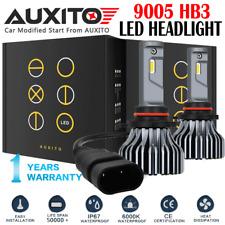 2X 9005 LED Headlight Kit HB3 9000LM High Beam CREE 6000K White Light Bulb EOA