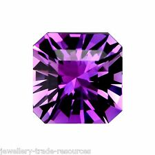 10mm x 10mm Natural Purple Amethyst Octagon Radiant Cut Gem Gemstone