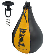 Tma Original Leather Speed Bag Punching BallWith Swivel Training Mmaspeed Ball U
