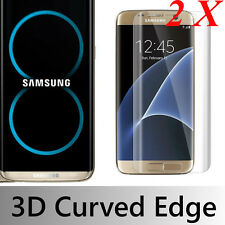 1/2X  Samsung Galaxy S8 Plus 3D Full Cover Tempered Glass Film Screen Protector