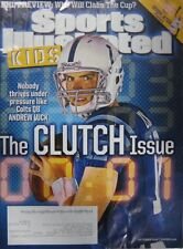 October 2014 Andrew Luck Indianapolis Colts Sports Illustrated For Kids