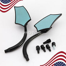 Aluminum Rearview Rear View Side Mirrors For Suzuki Boulevard C50 C50T C90 M90