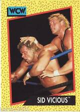 1991 WCW/WWE Impel #33 Sycho Sid Justice Vicious near mint
