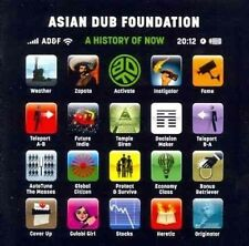ASIAN DUB FOUNDATION - A HISTORY OF NOW - 2011 COOKING VINYL PROMO ONLY CD