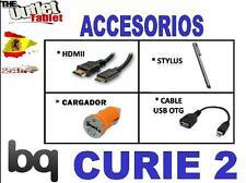 "PACK ACCESORIOS PARA TABLET BQ CURIE 2 8"" HDMI USB OTG CARGADOR USB"