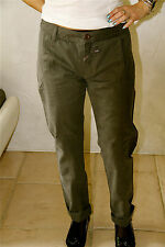 pantaloni cargo cachi M & FRANCOIS GIRBAUD flankenshield T 28 (38) ETICHETTA