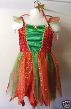 GEORGOUS-RED & GREEN XMAS FAIRY+WINGS+WAND -AGE 3-BNWOT