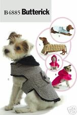 """Reduced!!  Butterick 4885 ADORABLE Dog Coats 11"""" to 26"""" Long Pattern"""