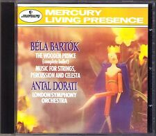 Antal Dorati: Bartok Wooden Prince Strings Percussion Mercury LIVING presence CD