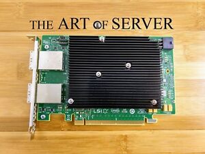 LSI 9302-16e 12Gbps SAS-3 external PCIe x16 HBA P16 IT mode ZFS TrueNAS UNRAID